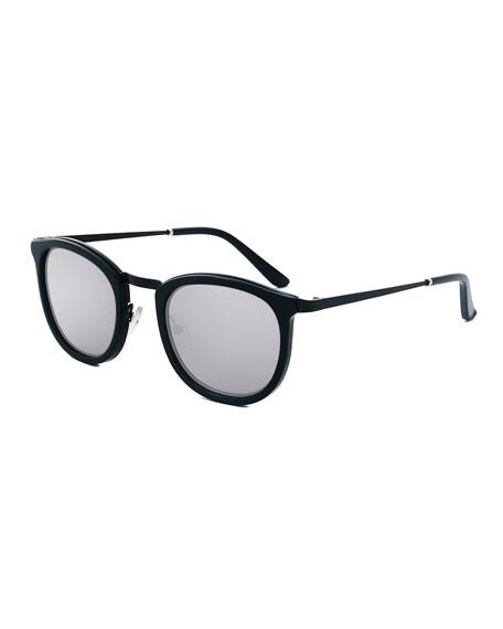Smoke X Mirrors Baja East Shout Square Sunglasses,