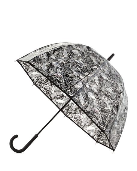Original Wave-Print Bubble Umbrella