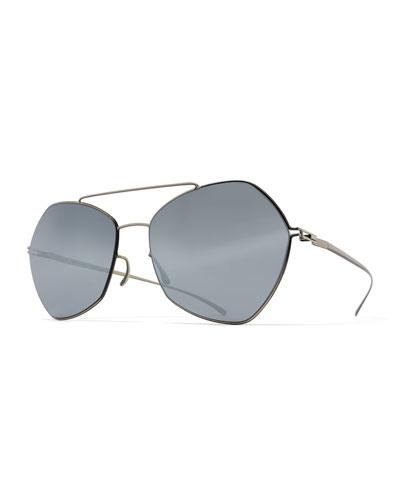 Silver Aviator Sunglasses 2017