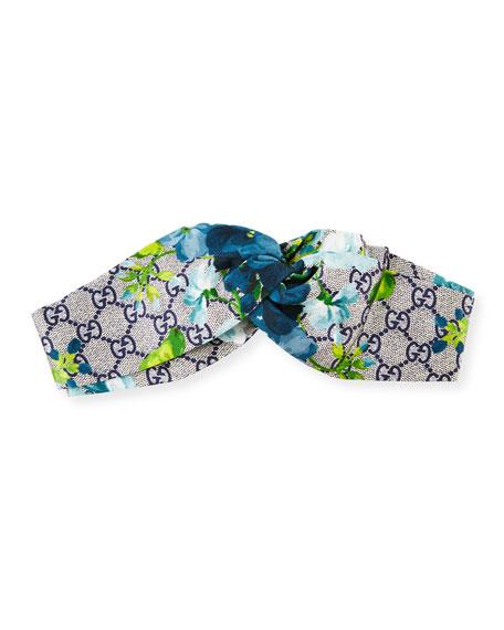 GG Blooms Silk Headband