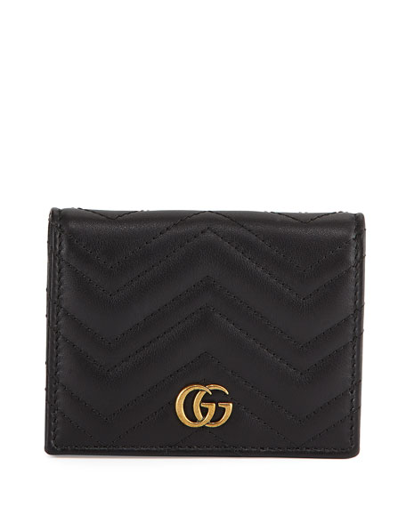 Gucci GG Marmont Flap Card Case