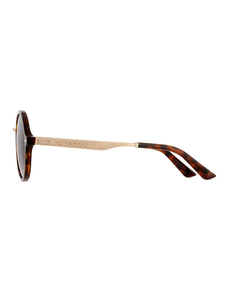 Round Filigree Sunglasses