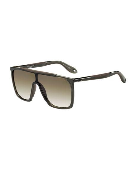 Square Gradient Shield Sunglasses