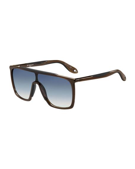 Shield Sunglasses  givenchy square grant shield sunglasses