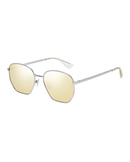 Ottoman Geometric Metal Sunglasses