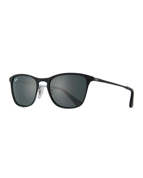 Ray-Ban Junior Junior Chris Monochromatic Square Sunglasses,