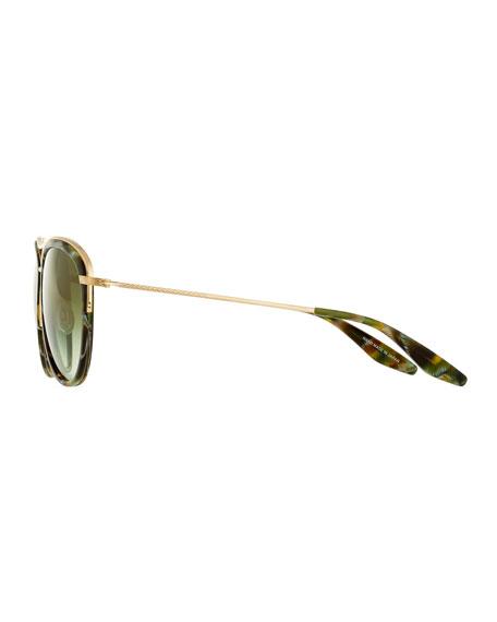 Universal Fit Aviatress Aviator Sunglasses, Jamrock Tortoise/Julep