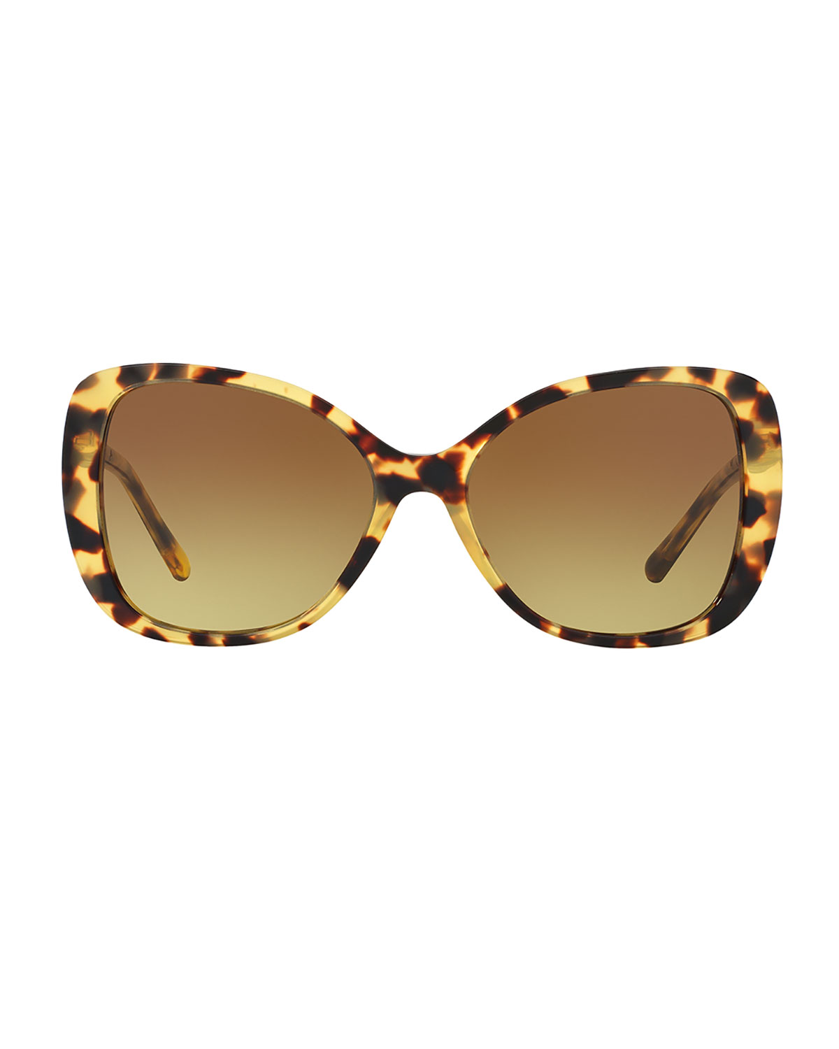 c8271545895 Burberry Gradient Metal-Trim Square Butterfly Sunglasses