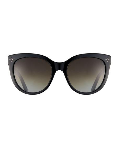 Boxwood Modified Cat-Eye Sunglasses