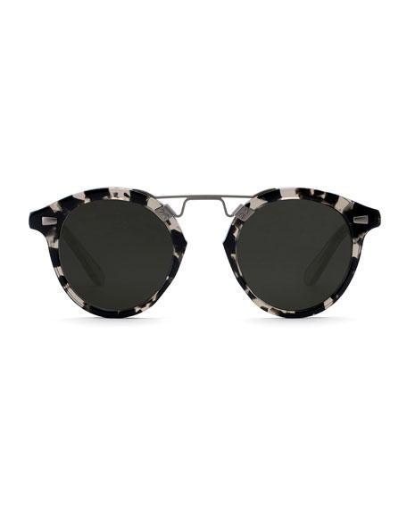 STL II Round Gradient Sunglasses, Tortoise