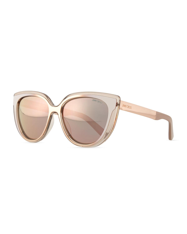 f8668b705a Jimmy Choo Cindy Cat-Eye Sunglasses