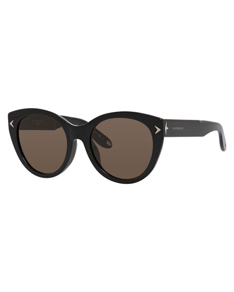 Givenchy Monochromatic Cat-Eye Sunglasses