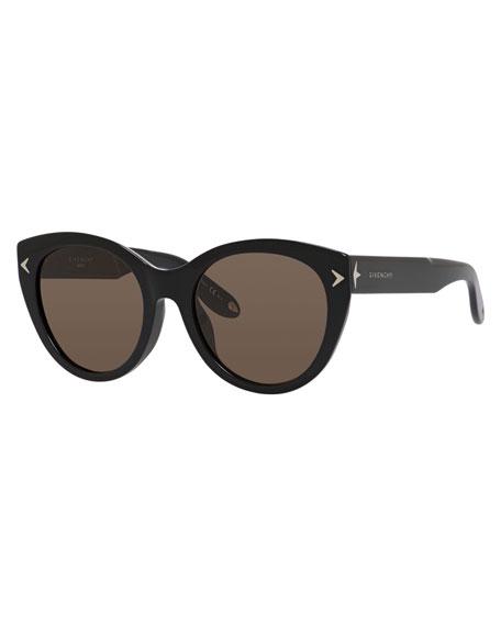 Givenchy Monochromatic Cat-Eye Sunglasses