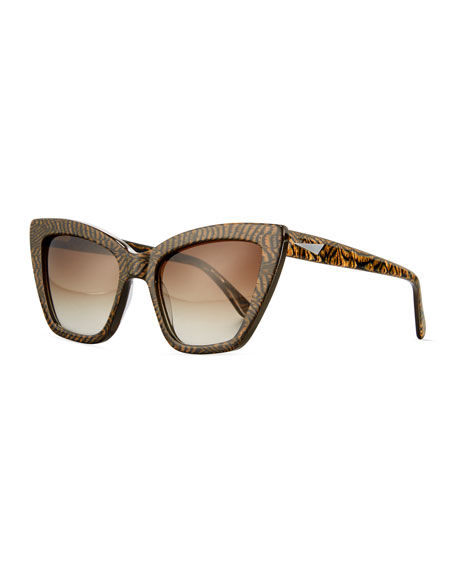 Calvi Cat-Eye Sunglasses