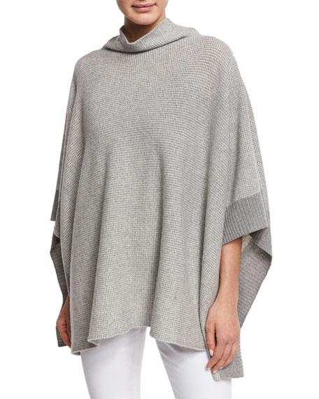 Eileen Fisher Fisher Project Funnel-Neck Reclaimed Cashmere