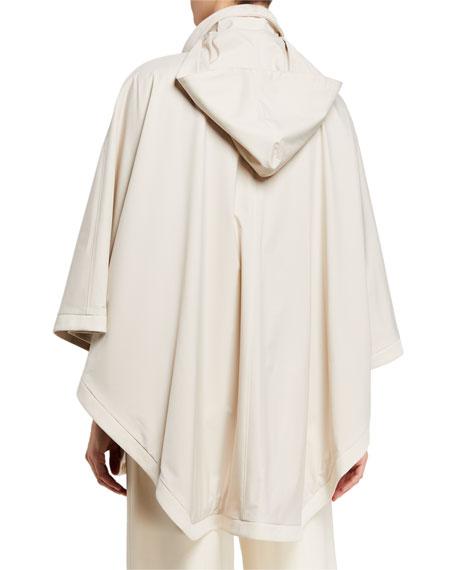 Vail Reversible Tech-Fabric & Cashmere Cape