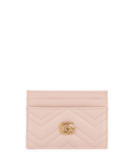 Gucci Cases GG Marmont Matelasse Card Case