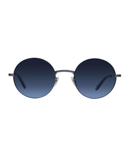 Seville Round Metal Sunglasses