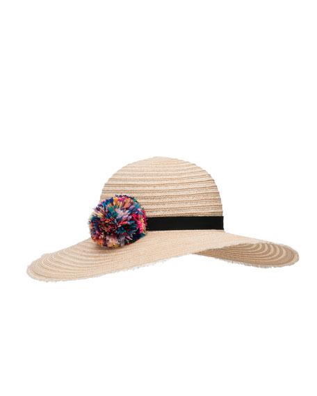 Eugenia Kim Honey Floppy Sun Hat, Neutral