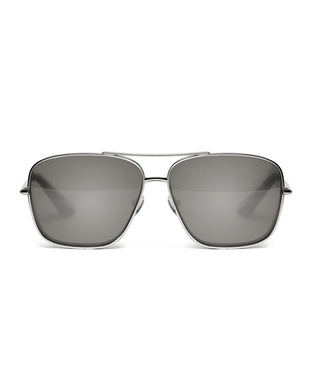 Deacon Square Aviator Sunglasses