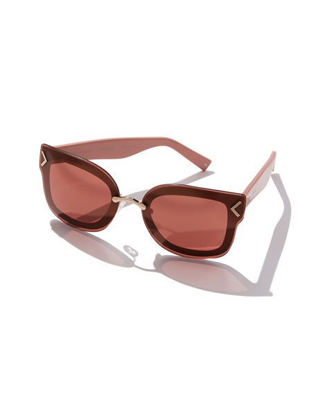 Priscilla Oversized Overlay Sunglasses