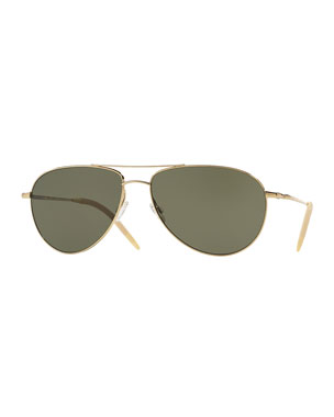 cb00285ec4 Oliver Peoples Women s Sunglasses   Round   Aviators at Neiman Marcus