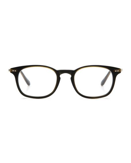 La Salle Square Optical Frames, Matte Fern