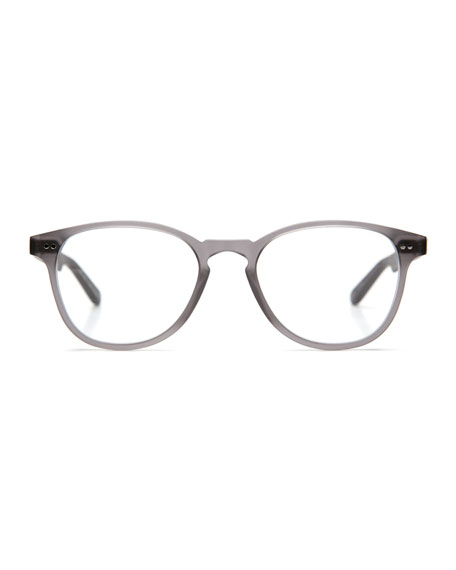 Perrier Square Optical Frames, Matte Ash Gray