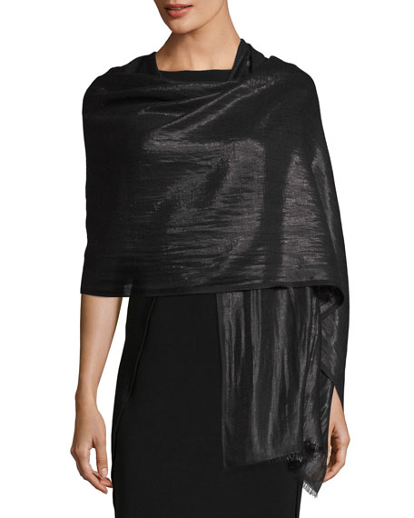 Bajra Metallic Cashmere Wrap
