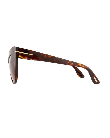 Nika Acetate Cat-Eye Sunglasses