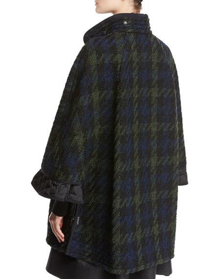 Euphrasie Oversized Houndstooth Coat