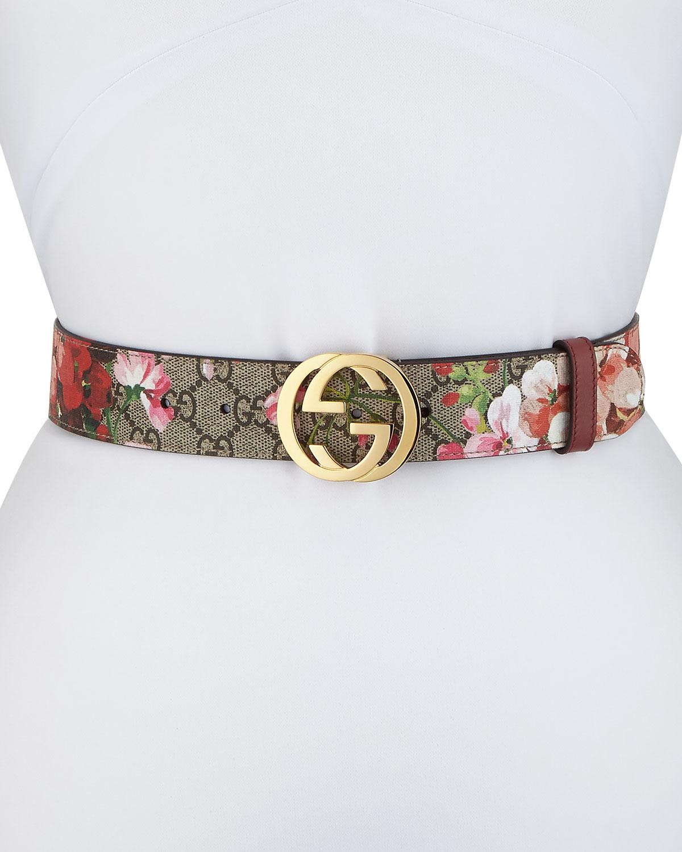 3ac43ad44 Gucci GG Blooms Belt | Neiman Marcus