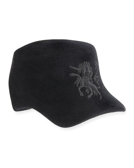 Unicorn Embroidered Baseball Cap