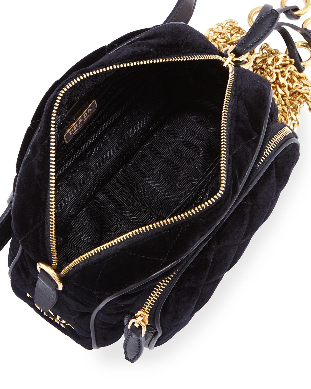 09988248705c ... ebay prada cahier small velvet convertible belt bag neiman marcus bcb8f  0ff26