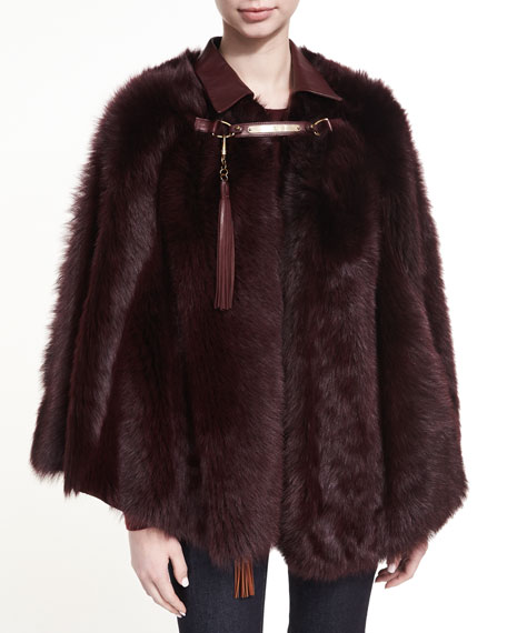 Ralph Lauren Collection Lamb Shearling Fur & Leather
