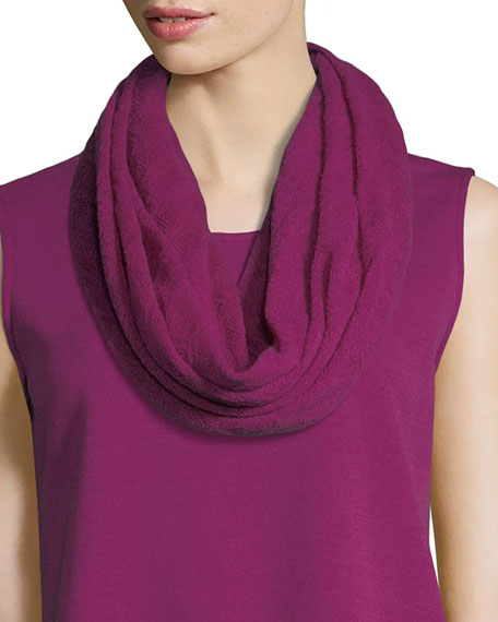 Caroline Rose Featherweight Wool Infinity Scarf and Matching