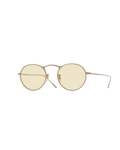 M-4 30th Mirrored Round Sunglasses