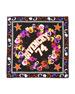 74 & Flowers Silk Swill Square Scarf