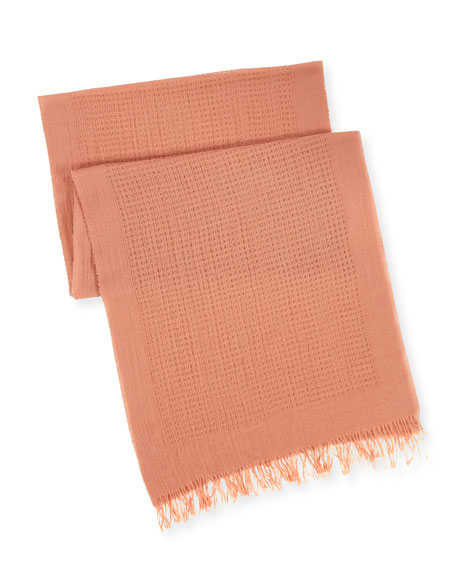 Wool Open-Network Scarf