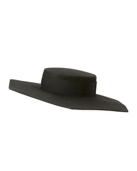 Eugenia Kim Atlas Geo Wool Boater Hat