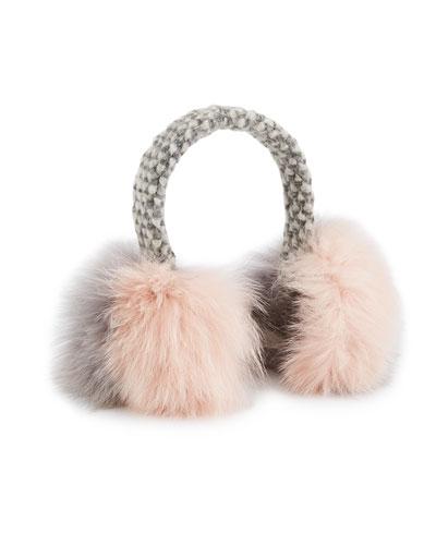Janine Fur Earmuffs