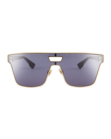 Diorizon Mirrored Shield Sunglasses