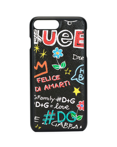 DG Graffiti Stampa Dauphine iPhone 7+ Case