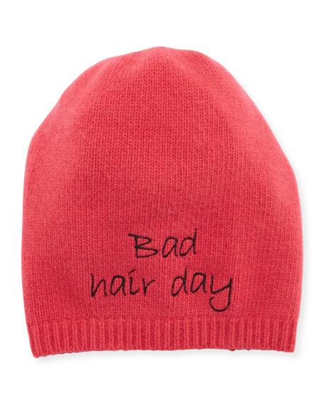 Bad Hair Day Cashmere Beanie Hat