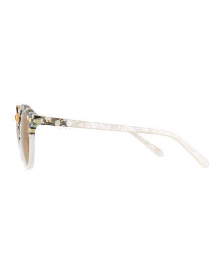 STL II Two-Tone Mirrored Sunglasses