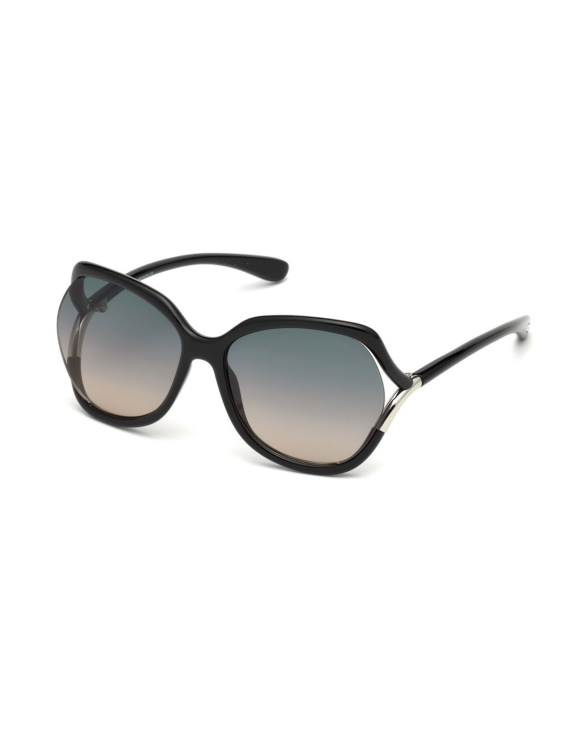 ff8a3b6663ba TOM FORD Open-Temple Oval Sunglasses