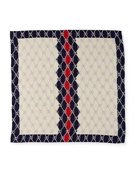 Foulard Sailor Knot Scarf