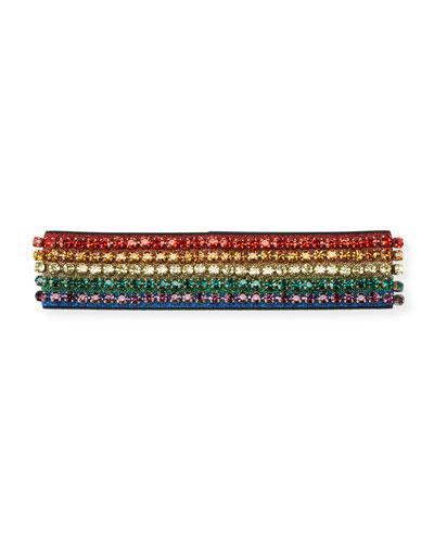 Metallic Crystal Webby Headband