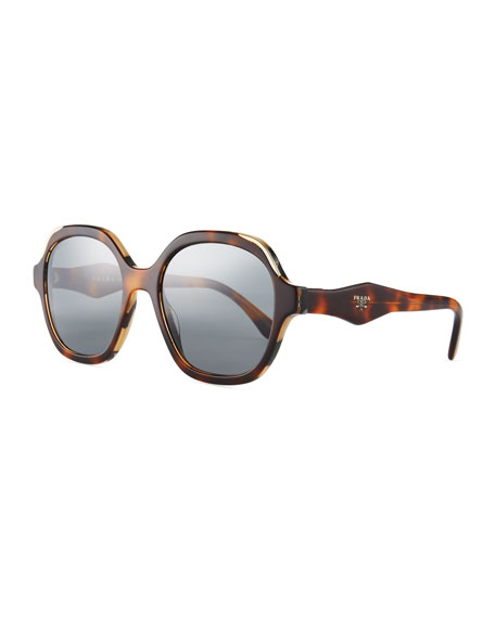 Prada Square Acetate Sunglasses