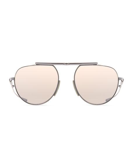 Calvin Klein Foldable Pilot Sunglasses